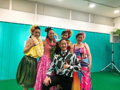 博多阪急ハワイアンフェスティバルに出演しました!